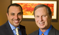 Dr. James Geren, DDS, MAGD, and Dr. Zeyad Mady, DDS, FAGD